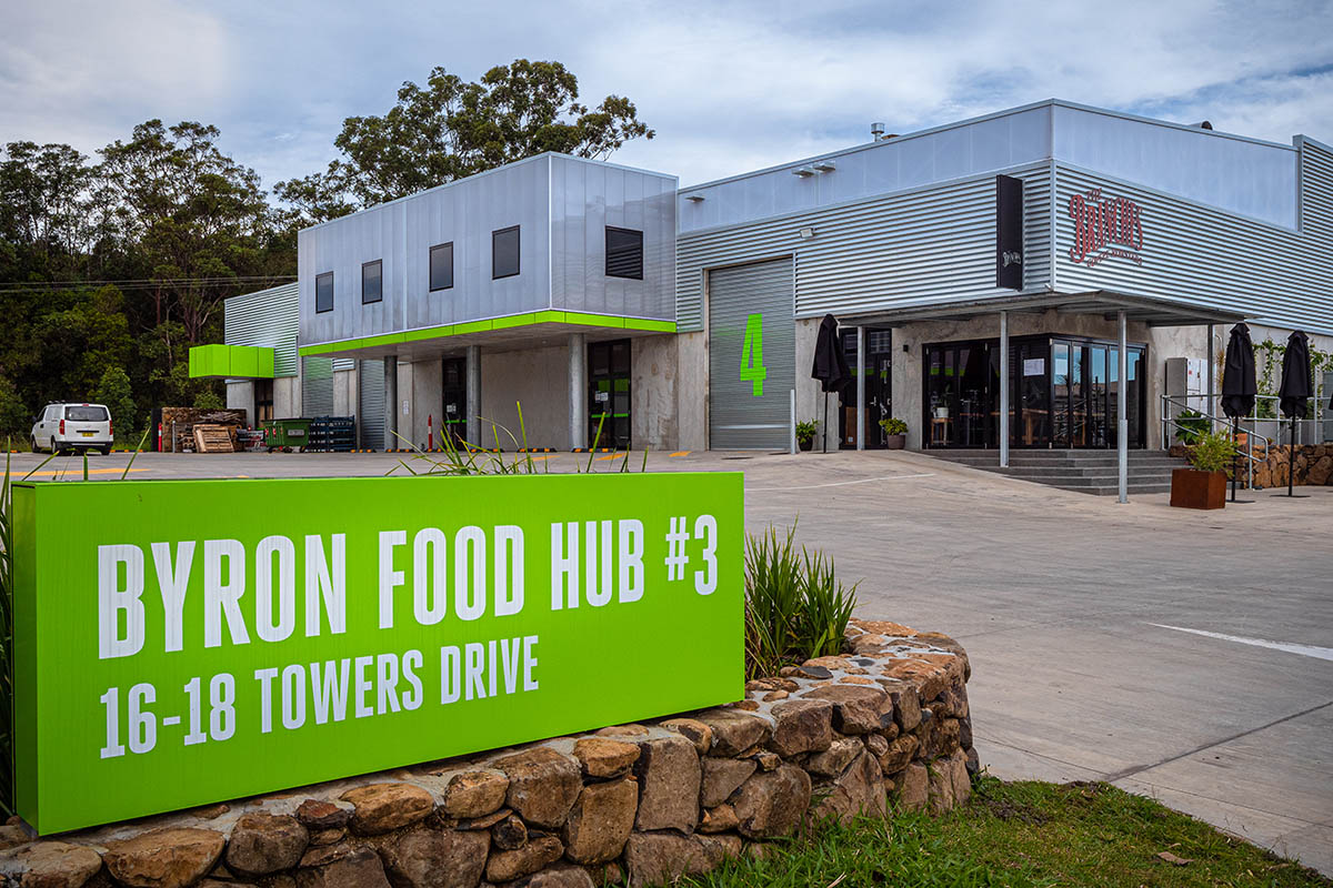 Byron Food Hub #3 Architecture Project Commercial